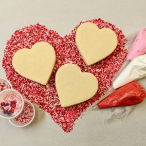 Valentine cookie kit