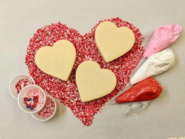 Valentine cookie kit